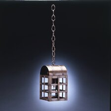 Adams Medium Base Socket Culvert Top H-Bars1 Light Hanging Lantern