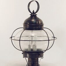 Onion 3 Light Galley Post Lantern