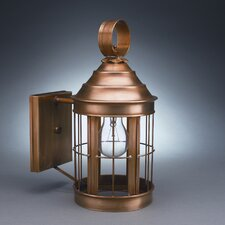 Heal Medium Base Socket Wall Lantern