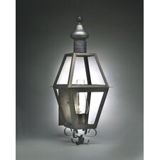 Boston 3 Candelabra Sockets Wall Lantern