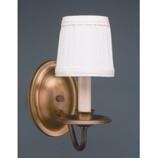 <strong>Northeast Lantern</strong> Sconce 1 Light Candelabra Socket with Shade