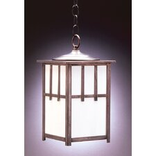 Lodge Medium Socket 1 Light Hanging Lantern