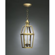 <strong>Northeast Lantern</strong> Uxbridge Candelabra Sockets Bracket 2 Light Hanging Lantern