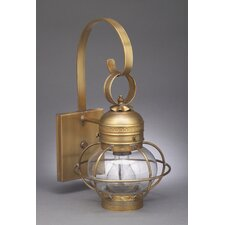 Onion Medium Base Socket Cage with Galley Wall Lantern