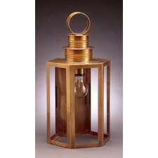 Hardwick Medium Base Socket Hexagon Wall Lantern