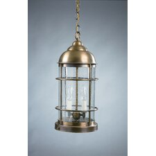 Nautical Candelabra Sockets 2 Light  Hanging Lantern