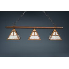 Pendant Medium Base Socket 3 Light Hanging Lantern