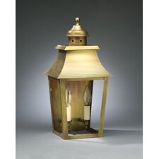 Sharon Medium Base Socket with Chimney Pagoda Wall Lantern
