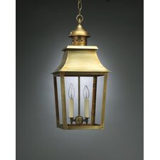 Sharon Candelabra Sockets Pagoda 2 Light Hanging Lantern