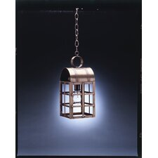 <strong>Northeast Lantern</strong> Adams Medium Base Socket Culvert Top H-Bars 1 Light Hanging Lantern