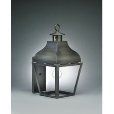 Stanfield Medium Base Socket Curved Top Wall Lantern