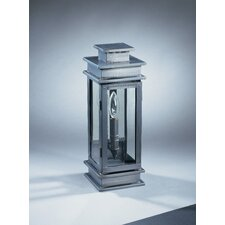 Empire 1 Candelabra Socket Antique Mirror Wall Lantern