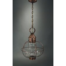 Onion Medium Base Socket 1 Light Hanging Lantern