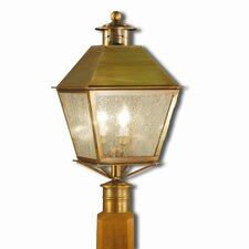 Jamestown 2 Light Outdoor Post Lantern