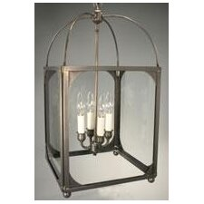 <strong>Northeast Lantern</strong> Chandelier 4 Light Hanging Lantern