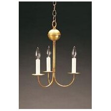 <strong>Northeast Lantern</strong> 3 Light Candelabra Chandelier