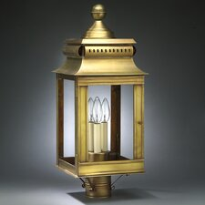 "Concord 3 Light 24"" Post Lantern"