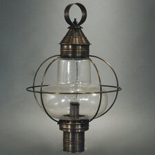 Onion 2 Light Post Lantern