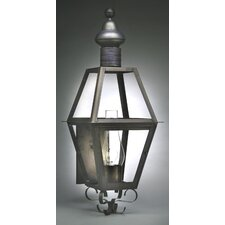 Boston Medium Base Socket with Chimney Wall Lantern