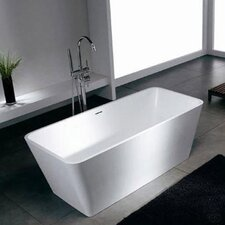"Blanc 60"" x 27"" Bathtub"