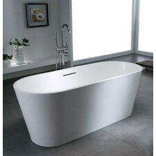 "Caspian 67"" x 28"" Bathtub"