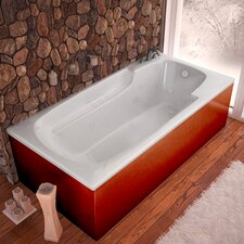 "Anguilla 72"" x 36"" Whirlpool Jetted Bathtub"