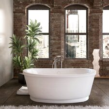 "Dhoni 66"" x 36"" Soaking Bathtub"