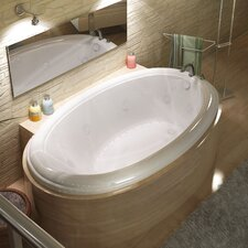 "Martinique 78"" x 44"" Air and Whirlpool Jetted Bathtub"