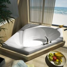 "St. Barts 60"" x 60"" Air Jetted Bathtub"