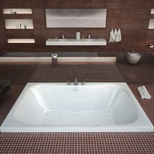 "Dominica 60"" x 40"" Air Jetted Bathtub"
