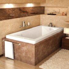 "Guadalupe 72"" x 32"" Air Jetted Bathtub"