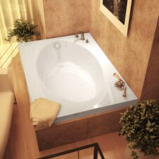 "Bermuda 60"" x 42"" Air Jetted Bathtub"