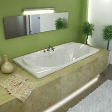 "Cayman 72"" x 42"" Air and Whirlpool Jetted Bathtub"