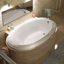 "<strong>Spa Escapes</strong> Martinique 60"" x 23"" Oval Bathtub"