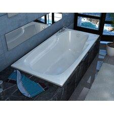 """Anguilla 72"""" x 42"""" Soaking Bathtub"""