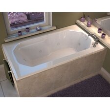 "Montserrat 60"" x 36"" Whirlpool Jetted Bathtub"