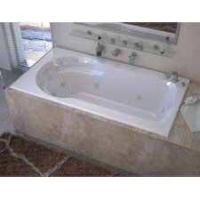 "Grenada 60"" x 32"" Air and Whirlpool Jetted Bathtub"