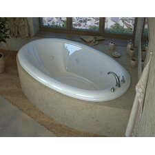 "Martinique 60"" x 36"" Air and Whirlpool Jetted Bathtub"