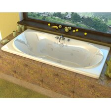 "Cayman 72"" x 36"" Whirlpool Jetted Bathtub"