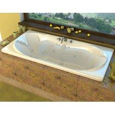 "Cayman 72"" x 42"" Whirlpool Jetted Bathtub"