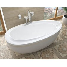 "Capricia 71"" x 38"" Soaking Bathtub"