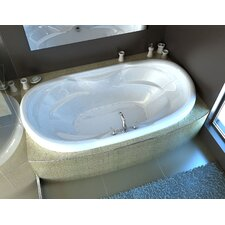 "Antigua 70"" x 41"" Air Jetted Bathtub"