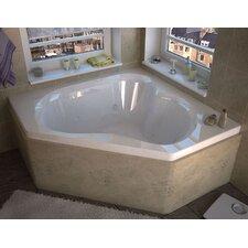 "Tobago 60"" x 60"" Whirlpool Jetted Bathtub"