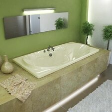 "<strong>Spa Escapes</strong> Cayman 72"" x 23"" Rectangular Bathtub"