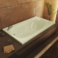"<strong>Spa Escapes</strong> St. Kitts 66"" x 23"" Rectangular Air Tub"