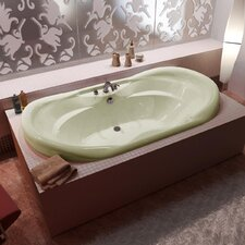 "<strong>Spa Escapes</strong> Antigua 70"" x 23"" Oval Bathtub"