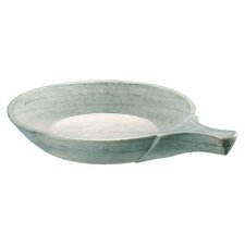 Stone Round Plate with Handle