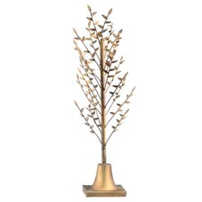 Metal Decorative Laurel Tree Statue