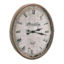 "28.5""  Wood / Glass Metro Clock"