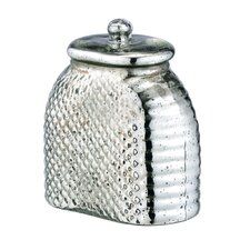 Glass Honeycomb Mercury Jar with Lid